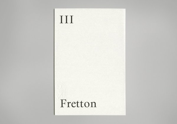 III The Lisson Gallery Sketchbooks: Tony Fretton