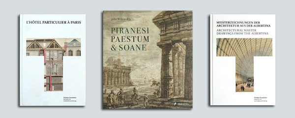 Set Classic: L'hôtel particulier - Piranesi, Paestum - Master Drawings from the Albertina